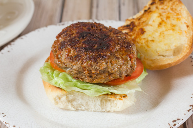 Stuffed Pizza Burger Recipe - Food.com