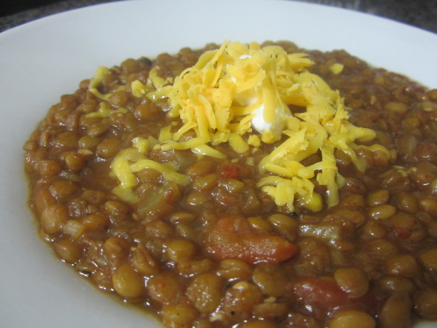 Delicious Lentil Chili Recipe - Food.com