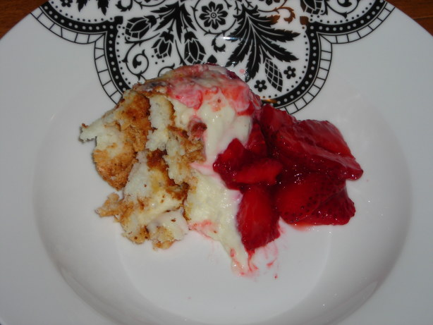 Strawberry Angel Food Dessert Recipe Food Com