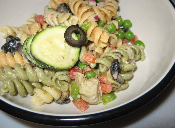 Mediterranean Pasta Salad Recipe - Food.com