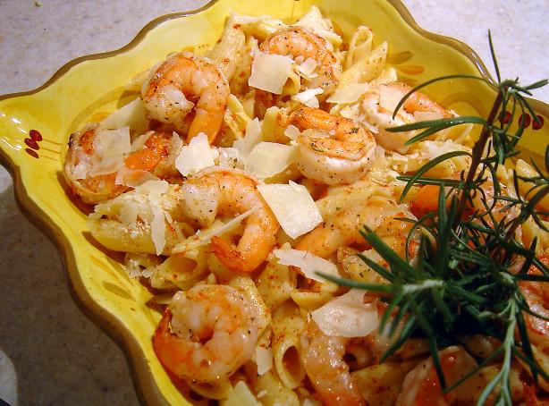 Rosemary Shrimp Penne With Butternut Squash Sauce Recipe - Food.com