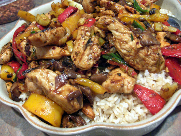Spicy Cashew Chicken Stir Fry Recipe - Food.com