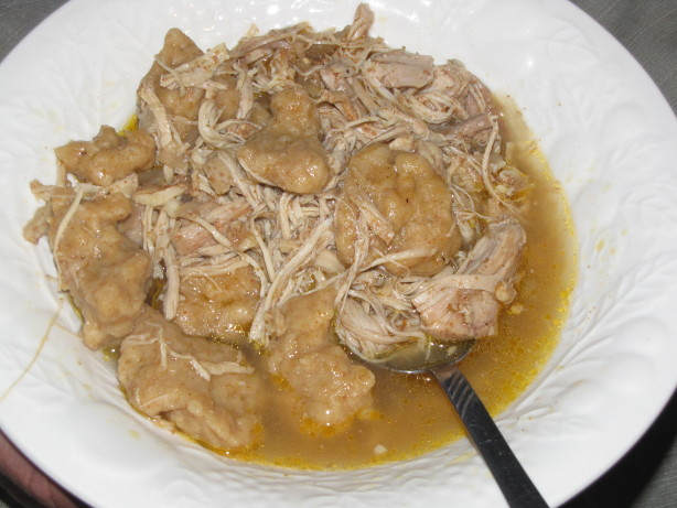 Mom's Chicken and Dumplings (Chicken Paprika)