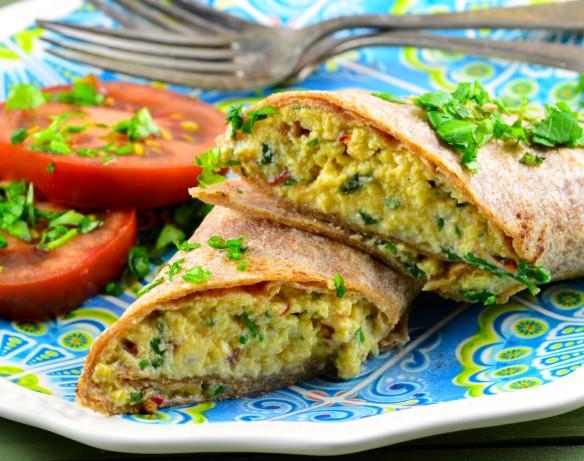 scrambled egg wrap cafe delites cafedelites scramble 3 egg ...