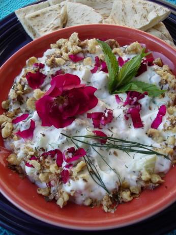 Mast-O Khiar Persian Yogurt And Cucumber Dip) Recipe ...