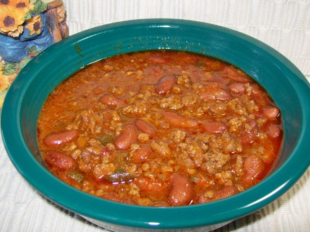 chili with salsa and lime slow cooker vegan spicy pinto bean chili ...
