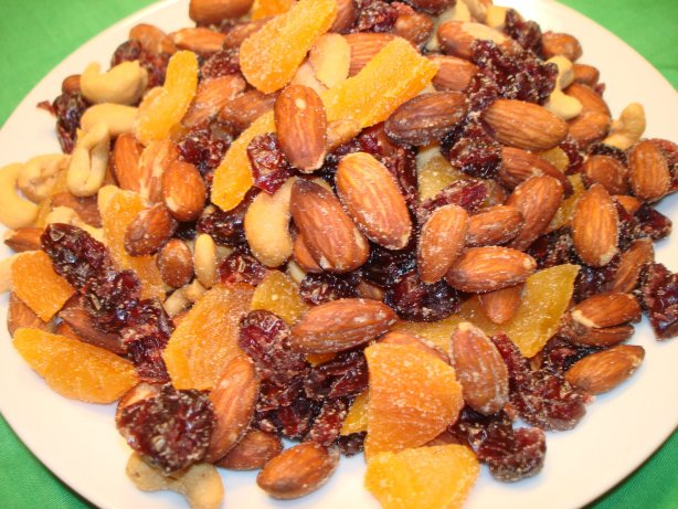 Fruit And Nut Snack Mix Recipe