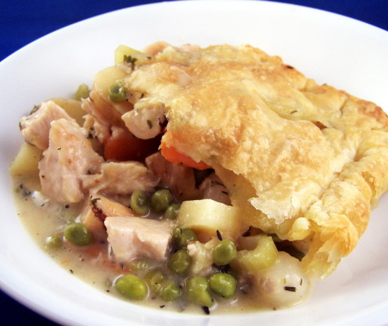 chicken pot pie recipe with puffed pastry