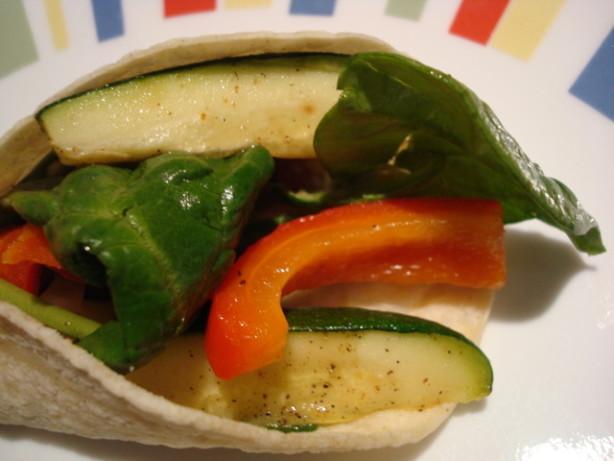 Yummy Zesty Zucchini Wrap Recipe - Food.com