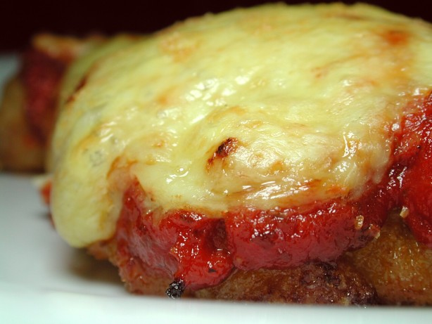 My Chicken Parmigiana With Homemade Pasta Sauce Recipe ...