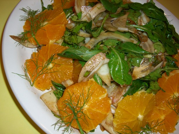 Arugula, Fennel And Orange Salad Recipe - Food.com