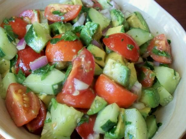 Cherry Tomato Avocado Salad Recipe - Food.com