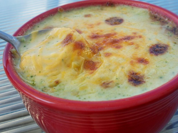 how to make a thick brocolli soup