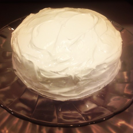 Dominican Meringue Cake Frosting Suspiro Recipe Food Com