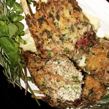 Mustard And Herb Crusted Lamb Rack Recipe - Food.com