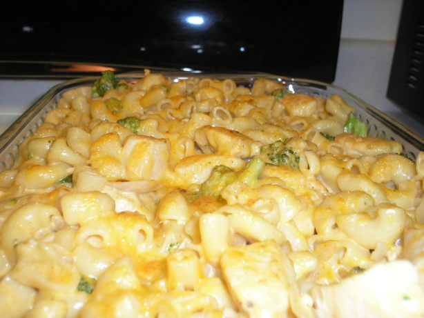 Macaroni And Cheese With Broccoli And Chicken Recipe - Food.com