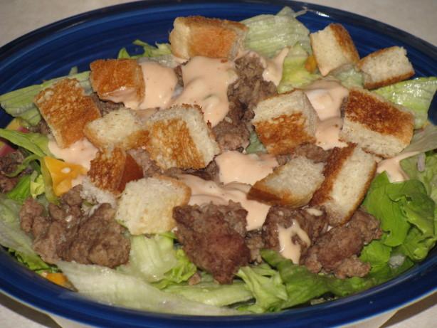 how to make a big mac salad