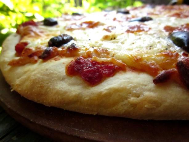pizza dough for bread machine