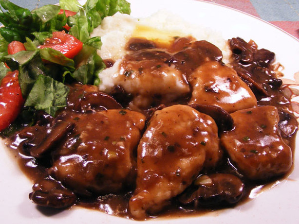 Image gallery medallions food for Morel mushroom recipes food network