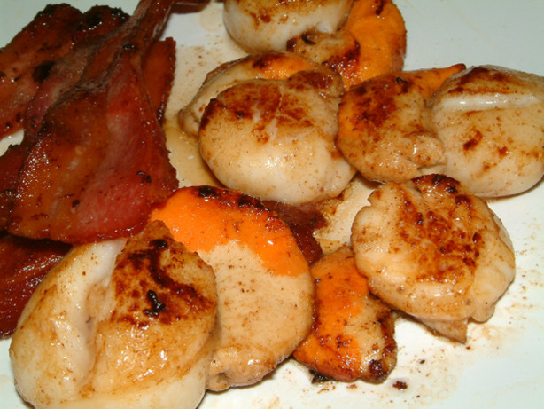 Pan Fried Scallops And...