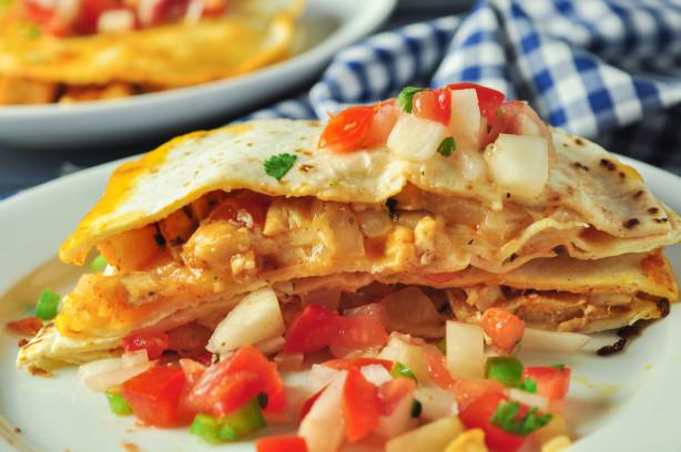 Healthy Chicken Quesadillas Recipe - Food.com