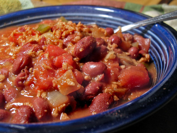 Two Bean Chili Vegetarian) Recipe - Food.com