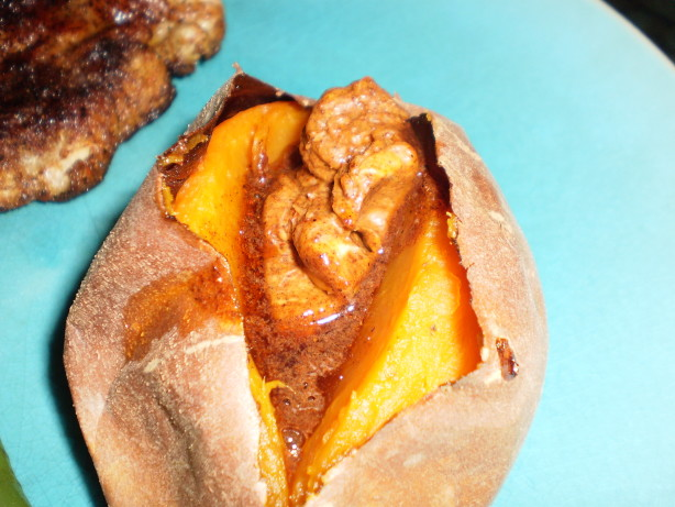 Baked Yams With Chili Beans Recipes — Dishmaps