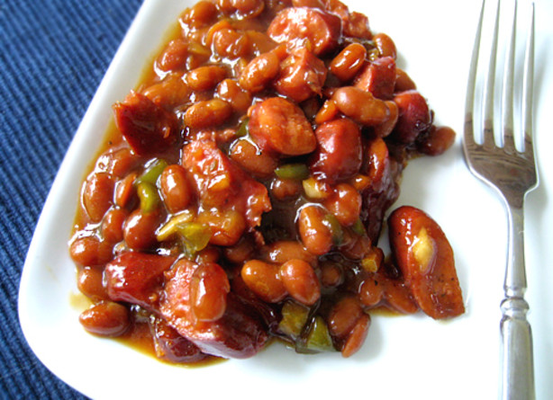 baked beans maple baked beans baked beans in the crock pot down home ...