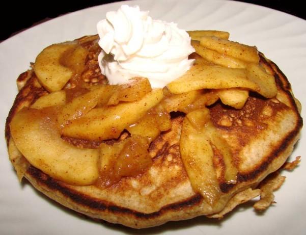 Spicy Apple Gingerbread Pancakes Recipe - Food.com