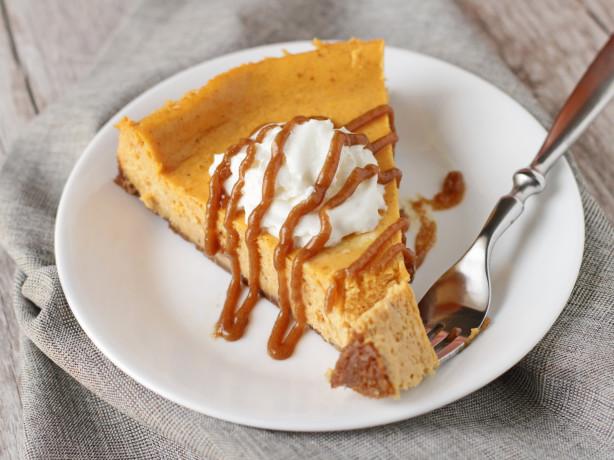 Pumpkin Cheesecake With Gluten Free Gingersnap Crust ...