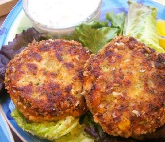 Salmon Burgers With Yogurt-Dill Sauce Recipes — Dishmaps