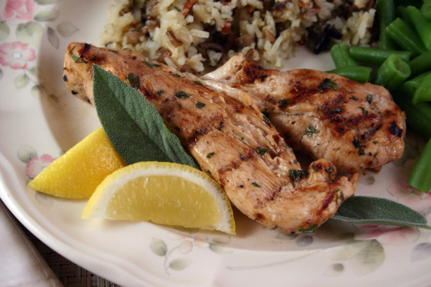 Seared Lemon Chicken With Garlic, Honey And Balsamic Vinegar Recipe ...