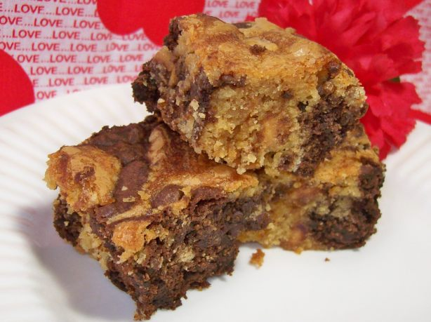 Peanut Butter Swirl Brownies Recipe - Food.com