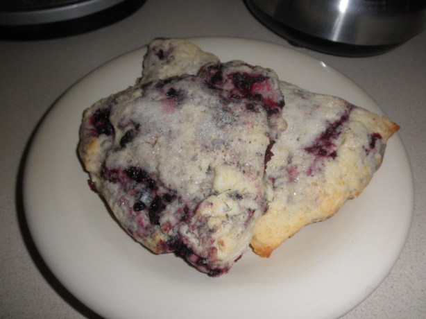 Fresh Raspberry Scones Recipe - Food.com