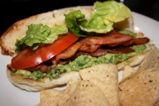 BLT With Spicy Guacamole Recipe - Food.com
