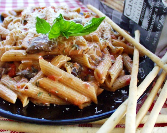Low Fat Penne A La Vodka Recipe Food Com