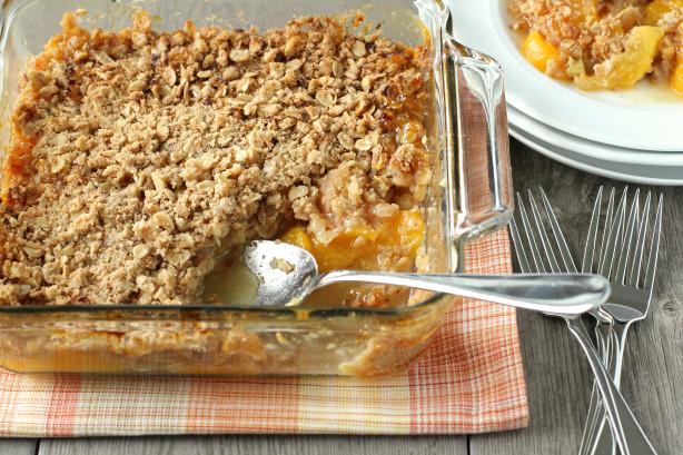 Fresh Peach Crisp Recipe Food Network