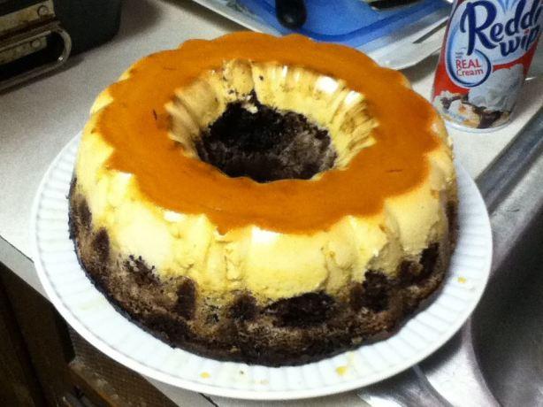 Choco Flan Cake Food Network