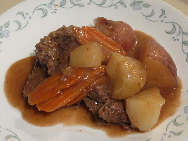 Soul Food Pot Roast Recipe
