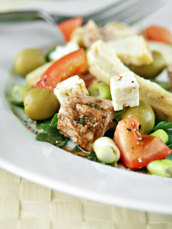 Mediterranean Tuna Salad Recipe — Dishmaps