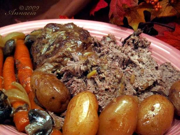 Slow Cooker Beef Pot Roast Recipe - Food.com