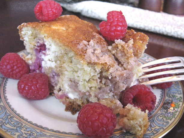 Raspberry Cream Cheese Coffee Cake Recipe - Food.com