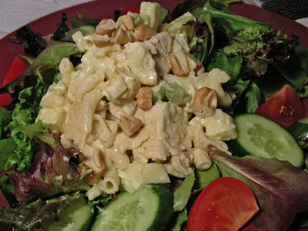 Curried Pasta And Chicken Salad Recipe - Food.com