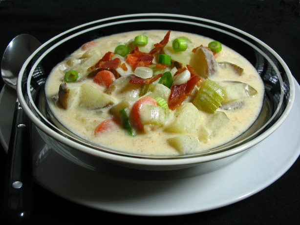 ... baked potato soup v recipes dishmaps baked potato soup v recipes