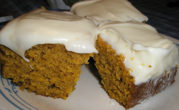 Pumpkin Bars Recipe By Paula Deen - Food.com