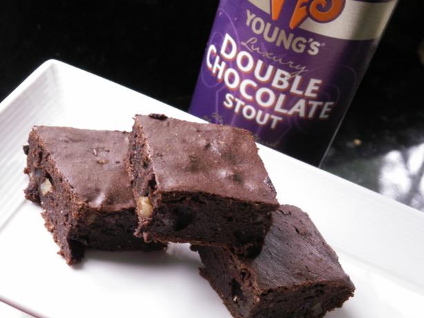 Triple Chocolate Stout Beer Brownies Recipe - Food.com