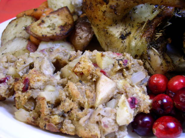 Apple And Cranberry Stuffing Recipe - Food.com