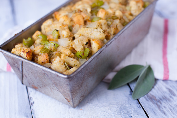 Homemade Giblet Stuffing For Turkey Or Chicken Recipe