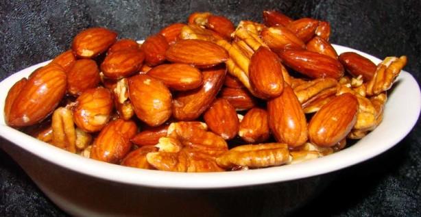 Honey Glazed Mixed Nuts Recipe - Christmas.Food.com