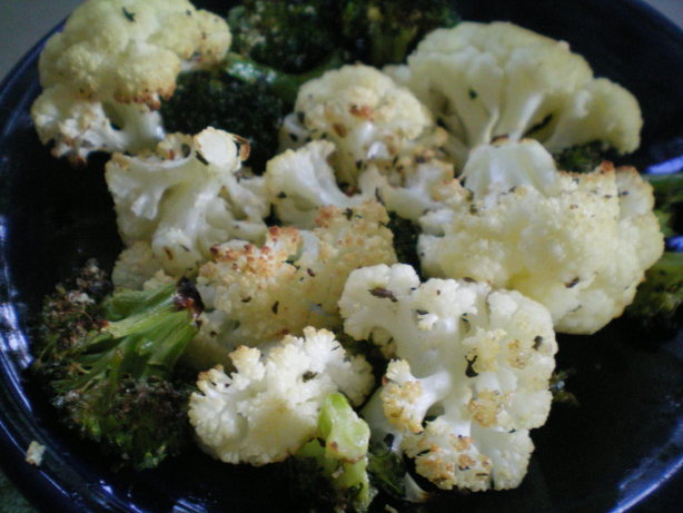 Oven-Roasted Cauliflower With Garlic, Olive Oil And Lemon Recipe ...